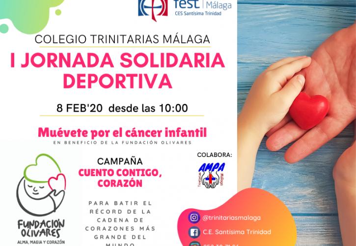 I Jornada Solidaria Deportiva TRINITARIAS MÁLAGA